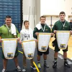 Zeeland West High School Boys Varsity Wrestling finishes 3rd place