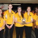 Zeeland West High School Girls Varsity Bowling finishes 1st place