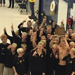 Zeeland East High School/Zeeland West High School Boys Varsity Swimming finishes 1st place