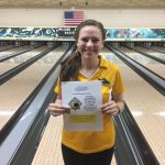 Zeeland East High School/Zeeland West High School Girls Varsity Bowling finishes 5th place