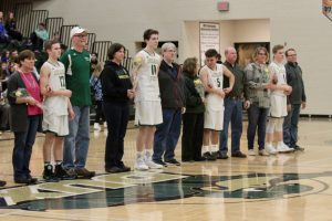 Photos from Boys Varsity Basketball 2/17/17 & 2/24/17 Plus Sr. Night