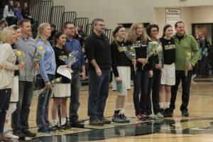 Photos from Girls Varsity Basketball 2/17/17 & 2/24/17 Plus Sr. Night