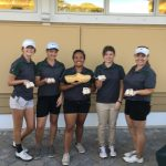 West Varsity Girls Golf wins Wooden Shoe