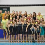 Zeeland East High School/Zeeland West High School Girls Varsity Swimming finishes 1st place
