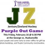 Hockey Recaps & Purple Game Invite