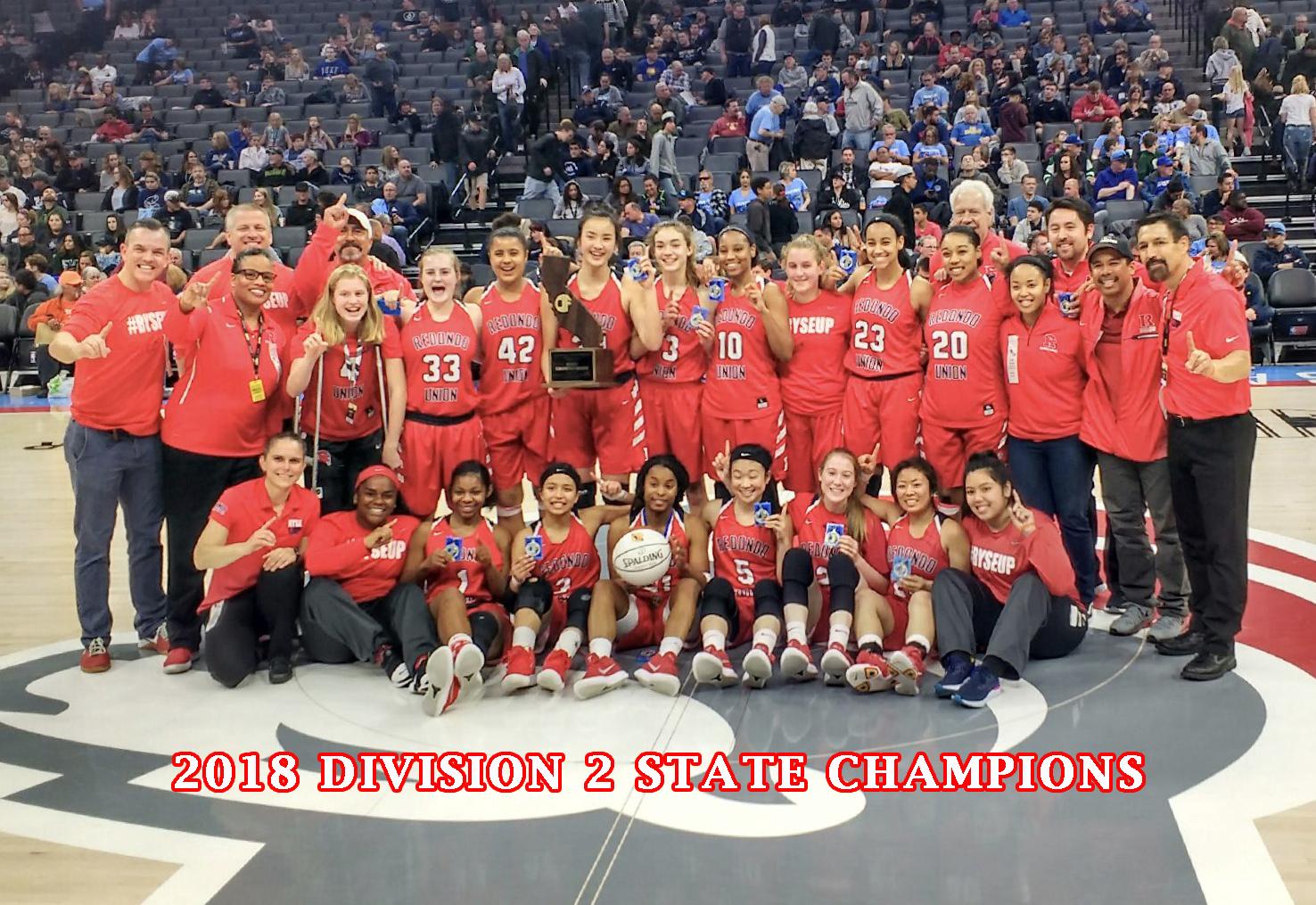 2018 CIF State Champions