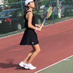 Dwight Morrow Girls Varsity Tennis vs. Bergenfield High School
