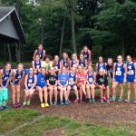 Girls Varsity Cross Country finishes 1st place at Berrien Springs Inv