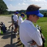 Boys Varsity Golf falls to Greensburg Central Catholic 222 – 238
