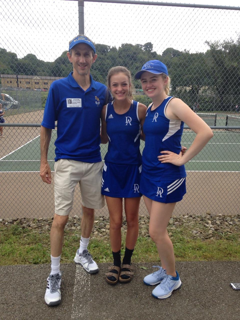 Sterrett and Tatone Represent Derry Area at WPIAL Tennis Section Singles, Tatone Advances to Compete for Third Place