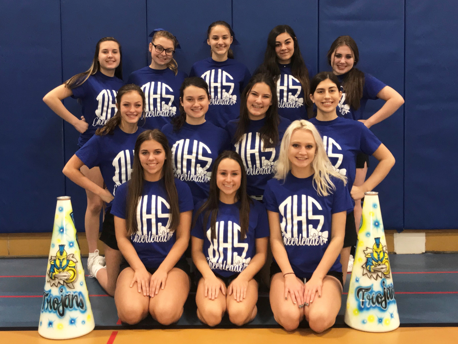 Trojan Cheerleaders Compete at WPIAL Championships in Search of Bid to Hershey!