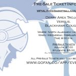 WPIAL Boys Basketball Playoffs Pre-Sale Ticket Information