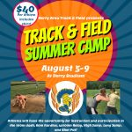 Track and Field Summer Camp Sign Up!