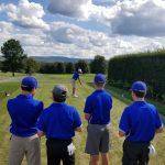Boys Varsity Golf beats Frazier 220 – 242