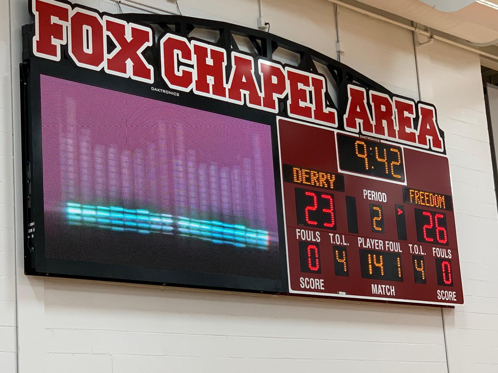 Girls Basketball falls to Freedom, 47-32