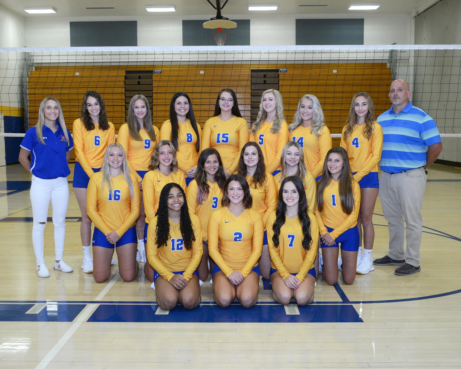 Fall 2020 Varsity Team Photos