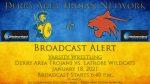 Broadcast Alert: 1/18/21 Wrestling vs. Latrobe