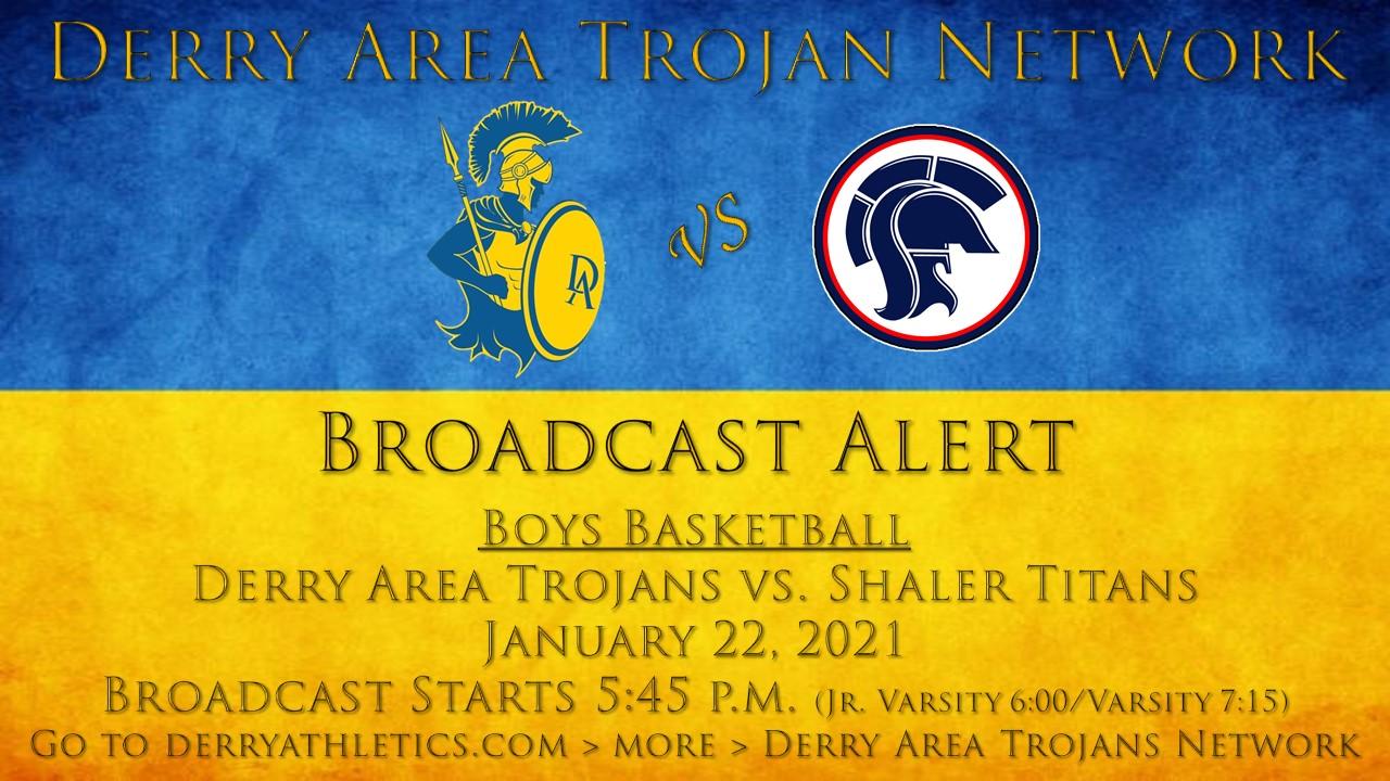 1/22/21 Boys Basketball vs. Shaler