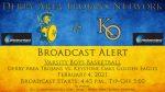 2/4/21 Broadcast Alert: Boys Basketball vs. Keystone Oaks