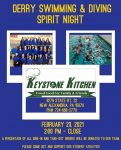 Derry Area Swimming and Diving Spirit Night