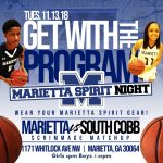 Varsity basketball scrimmages South Cobb