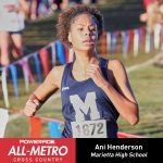 Selected for 2018 Powerade All-Metro Cross Country Team