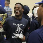 Marietta wrestlers rebound from duals to win region traditional championship