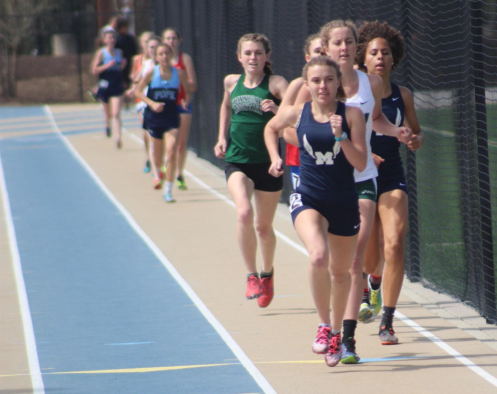 Marietta girls track team sets sights on state championship repeat