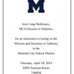 Marietta Athletics Meet & Greet