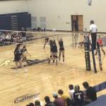 Girls Varsity Volleyball falls to Homer 3 – 2