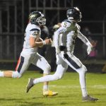 Warriors Clinch Playoff Berth; Beat Pirates 52-14