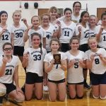 7th Grade Runners-Up in Hanover-Horton Tournament