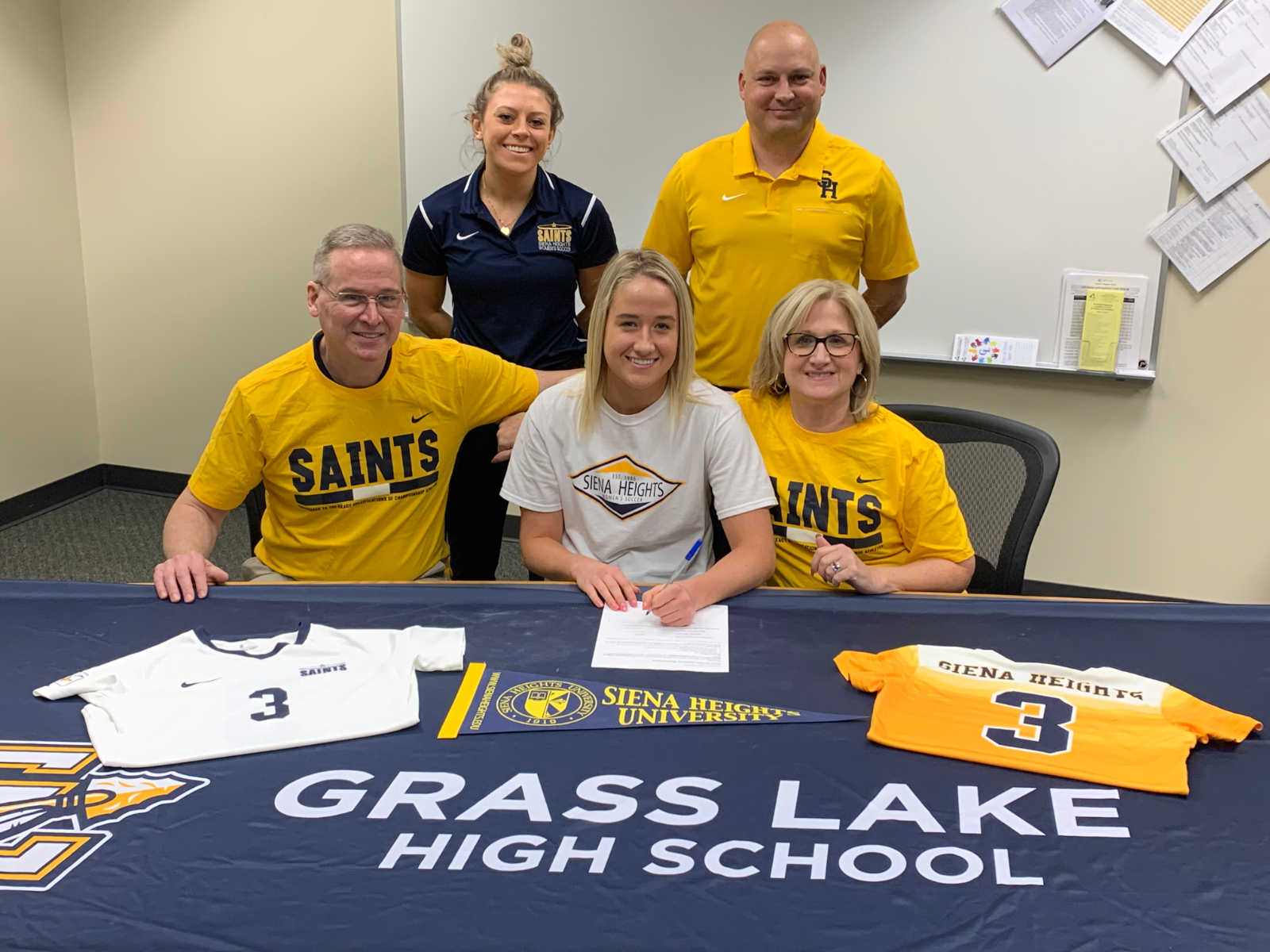 Faith Patania to play for Siena Heights