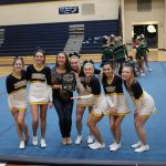 Girls Varsity Competitive Cheer finishes 1st place at Warrior Invite