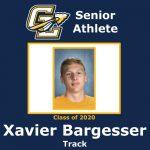 Senior Spring Athlete: Xavier Bargesser