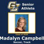 Senior Spring Athlete: Madalyn Campbell