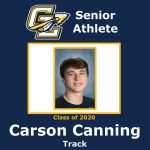 Senior Spring Athlete: Carson Canning