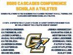 2020 Cascades Conference Scholar Athletes