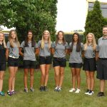 Girl's Varsity Gold Golf Sets School Records