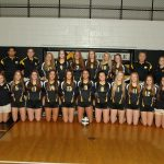 Girls' Volley Splits Tri-Match