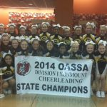 Competition Cheer Wins State Title