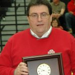 Coach Staley Inducted Into Hall of Fame