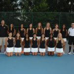 Girls Varsity Tennis Finishes 4th in GWOC Gold Tourney