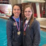 Katie Polk Wins Division I State Diving Title