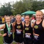 Girls Cross Country Rolls On at Mason