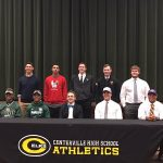 Several Football Elks Sign Letters of Intent