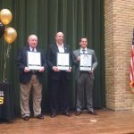 Elks Induct Three New Members Into School's Athletic Hall of Fame