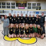 Volleyball Dominates Creek, Takes GWOC East Titile