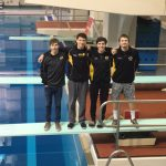 All Boys Divers Qualify for District