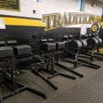 Athletic Boosters Provides Funds for Weight Room and Tennis Court Benches